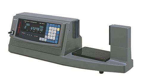 mitutoyo bench center laser scan micrometer lsm 9506 series 544 bench top type