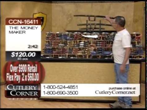 cutlery coner cutlery corner network money maker knife show