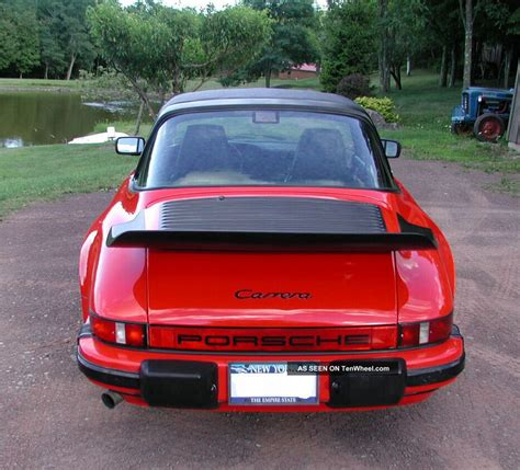 1986 porsche targa 1986 porsche 911 carrera targa 2 door 3 2l