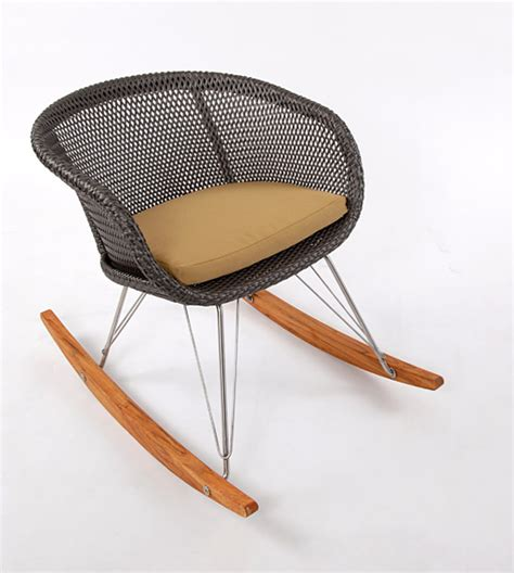 Modern Outdoor Rocking Chair by Outdoor Rocking Chair 6 Lebello