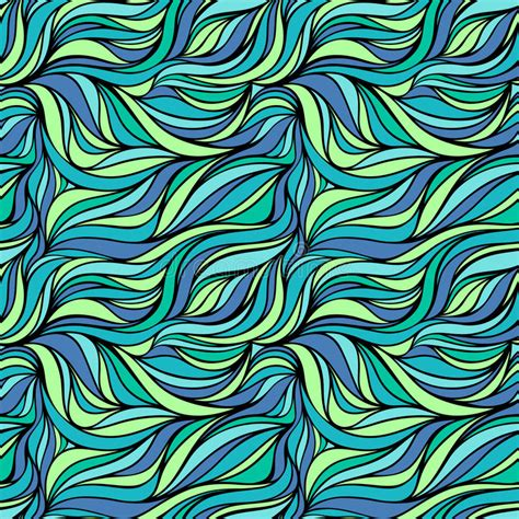 patterns in nature textiles seamless vector fabric pattern with lines abstract ocean