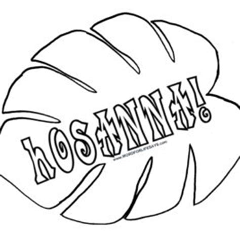 palm branch template palm branch coloring pages