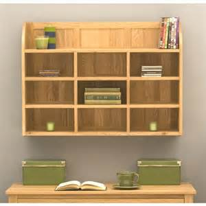 Wall Book Shelves Mobel Oak Wall Shelves