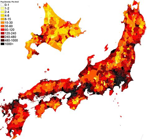 population map japan population density map middle east map