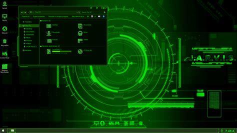 jarvis wallpaper for windows 7 jarvis green skinpack skinpack customize your digital