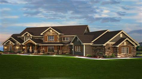 luxury ranch home plans rustic luxury home plans