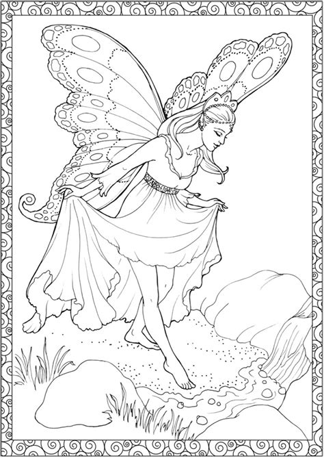 enchanted fairies coloring book books welcome to dover publications