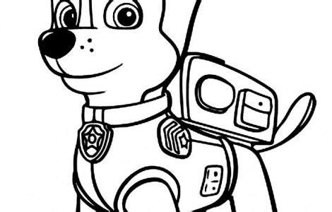 coloring pages paw patrol chase chase paw patrol coloring pages silhouette portrait