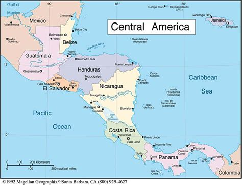 map of central america map of central america map of africa