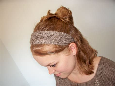 free pattern knitted headband february lady lace headband pretty little knit stitches