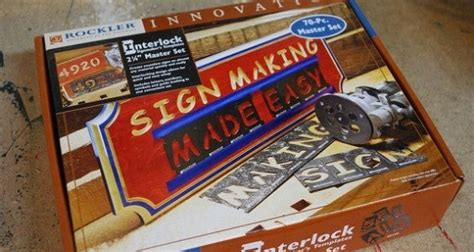 router templates for signs interlock sign kit by rockler review woodlogger