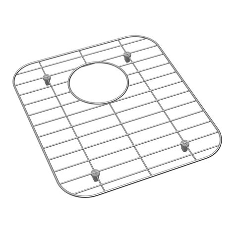 elkay stainless steel kitchen sink bottom grid fits bowl