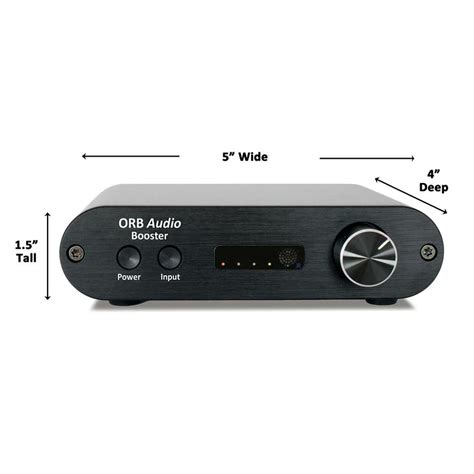 booster mini integrated amplifier orb audio
