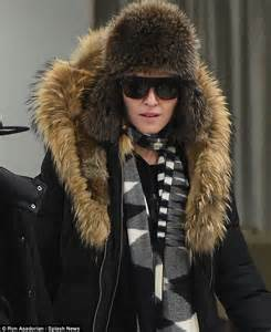 madonna in a fur coat madonna will only appear on the voice uk if extravagant