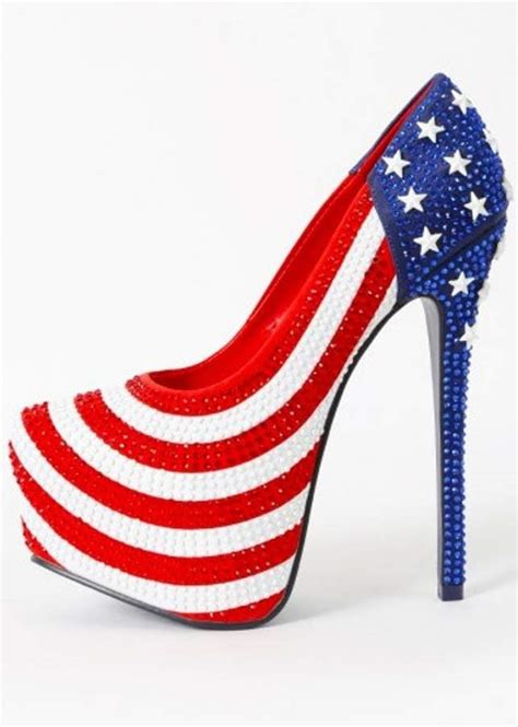 white blue high heels top 10 best white blue clothing for 4th of july