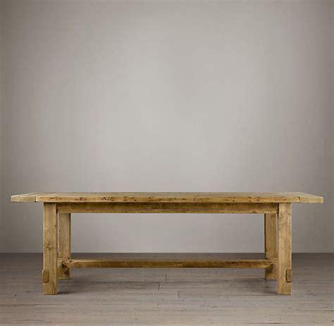 Farmhouse Salvaged Wood Rectangular Extension Tables Kitchen Table Hardware