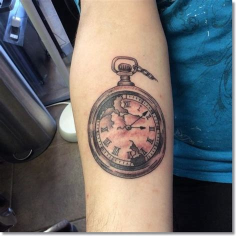 tattoo wrist watch 60 amazing collection of awesome pocket watch sleeve
