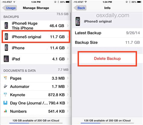 how to backup phone to icloud how to delete icloud backups on iphone
