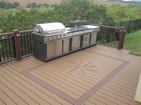completed decks and patios from american fence and deck