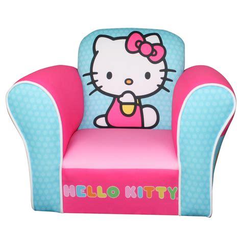 hello kitty plush armchair