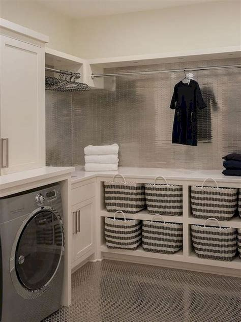 white laundry room beautiful concealed laundry and 28 60 best modern farmhouse laundry room decor ideas