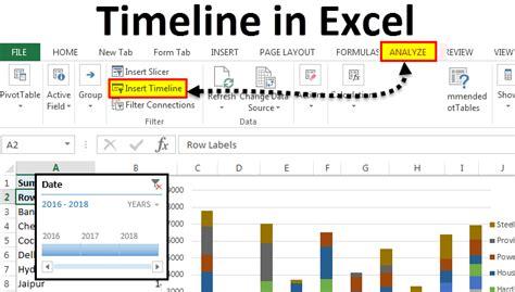 timeline  excel   create timeline  excel step
