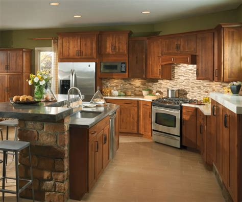 Java Stain Kitchen Cabinets by Shaker Style Kitchen Cabinets Aristokraft