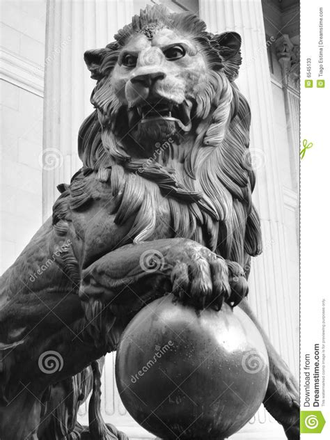 lion statue tattoo statue stock image image of madrid spain