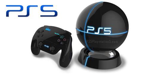 ps5 console levitating ps5 console with touch screen dualshock 5