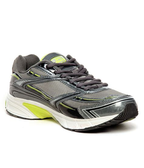 lime green athletic shoes slazenger nevada grey lime green running shoes price in