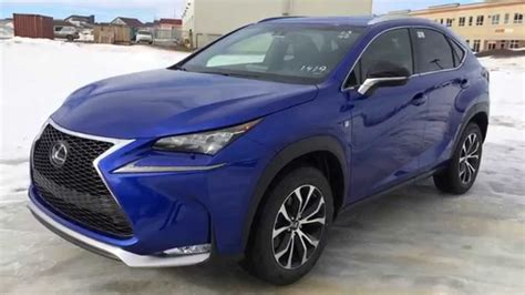 blue lexus nx new ultrasonic blue 2015 lexus nx 200t awd f sport