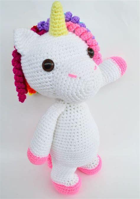 pattern crochet unicorn crochet pattern in english mimi the friendly unicorn