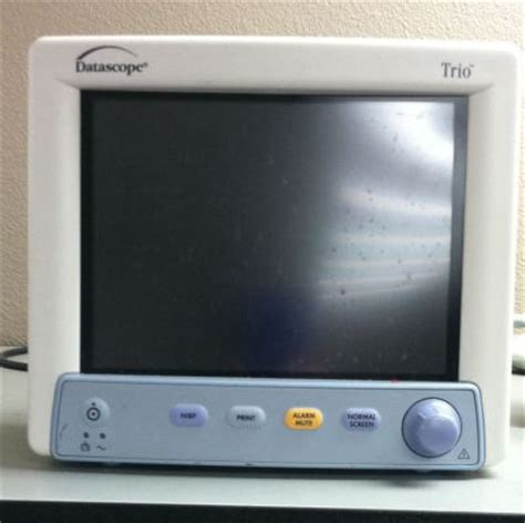 Monitor Forsa used datascope trio monitor for sale dotmed listing 1613925