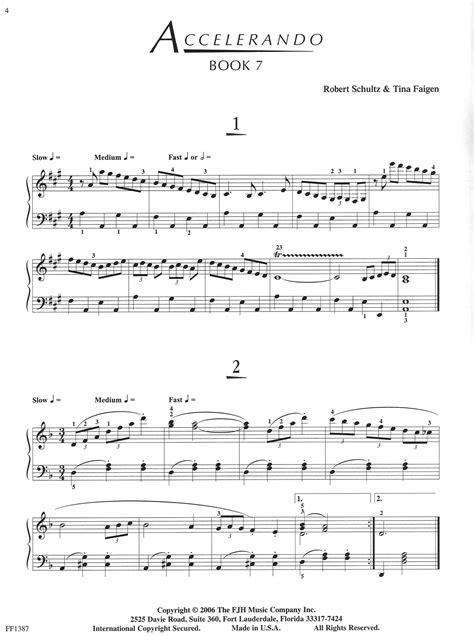 Accelerando Book 7   Schultz Music Publications