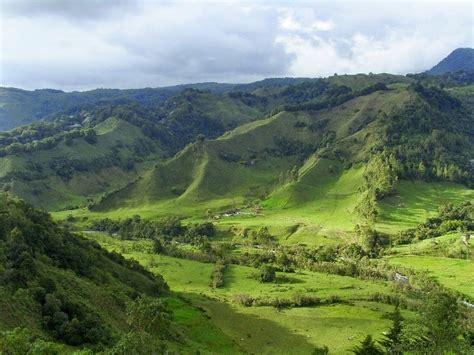 imagenes de valles naturales paisajes naturales de colombia