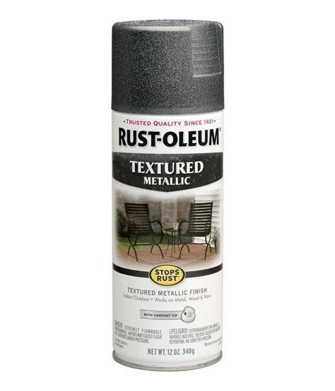 buy rust oleum stops rust textured metallic spray paint color excalibur at low price in