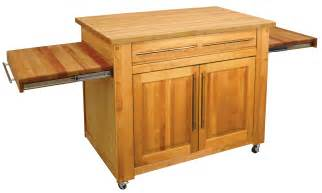 Mobile Kitchen Island Butcher Block by Catskill S Empire Work Center Butcher Block Island Pull
