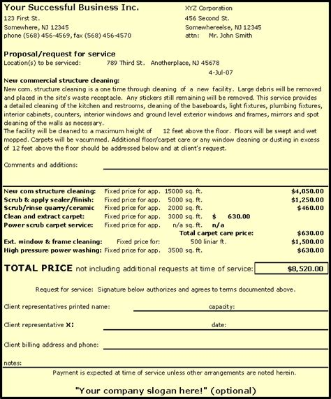 Construction Cleaning Bid Template Templates Resume Exles Jeggmnlyqo Cleaning Bid Template Free