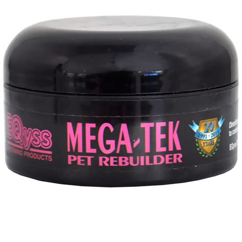 megatek for hair growth eqyss mega tek pet rebuilder 2 oz