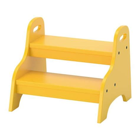 step ladder ikea trogen children s step stool yellow 40x38x33 cm flats