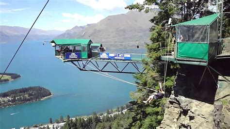 swing new zealand the ledge swing queenstown nz