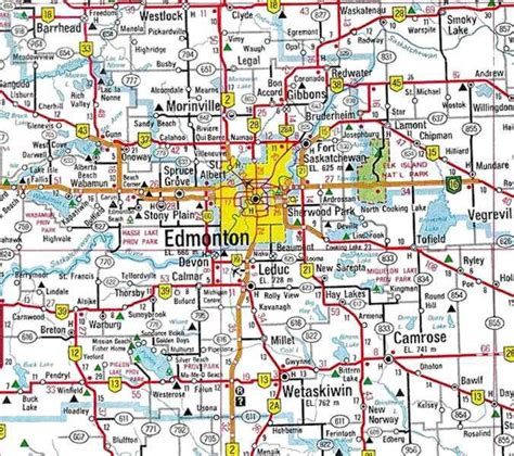 edmonton canada map maps of edmonton