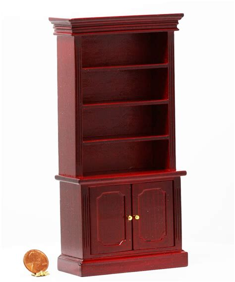 dollhouse bookshelves mahogany bookshelves with crown molding dollhouses and more