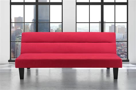 kebo futon sofa bed red kebo futon sofa bed multiple colors color red