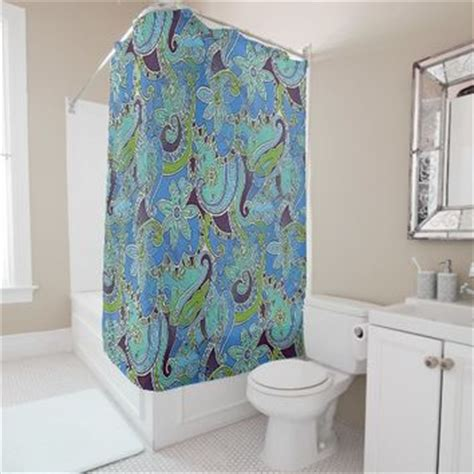 turquoise and purple shower curtain shop purple and turquoise curtains on wanelo