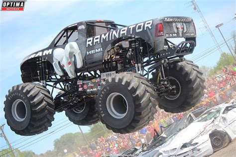 videos of monster trucks racing optima sponsored hall brothers racing monster trucks