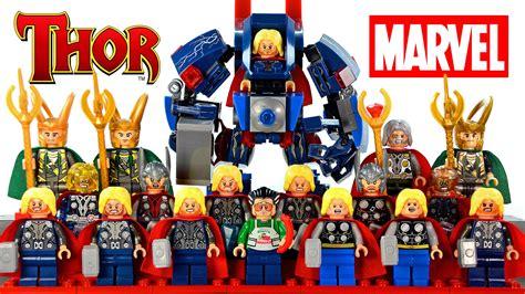 Lego Marvel Comics Yellow Jacket Ant Series Bootleg my lego thor marvel heroes 2016 complete minifigure