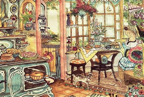 cozy kitchen cozy kitchen by barbieholic on deviantart