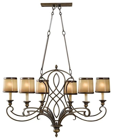 Wide Chandelier traditional murray feiss justine 36 quot wide 6 light