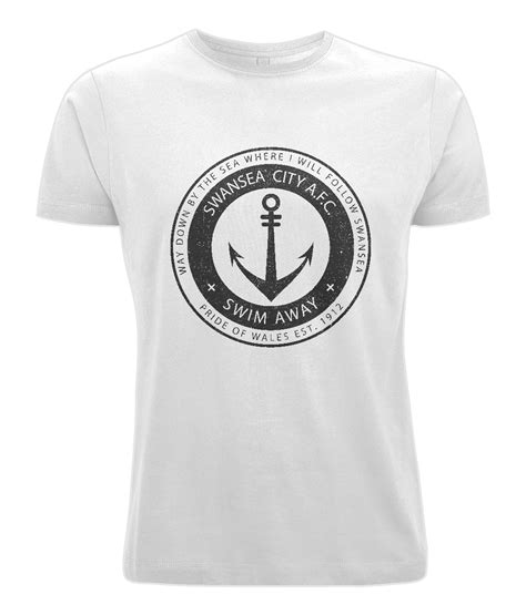 Tshirt Swansea City Afc Ogd scfc way by the sea t shirt uk